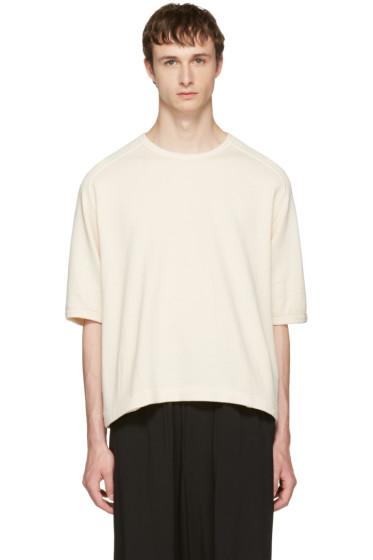 Sasquatchfabrix - Beige Window Waffle T-Shirt