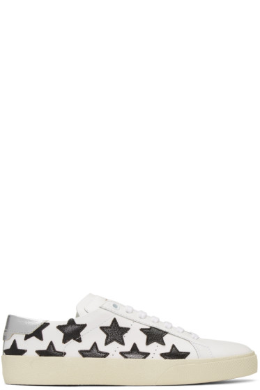 Saint Laurent - Off-White Court Classic Stars Sneakers