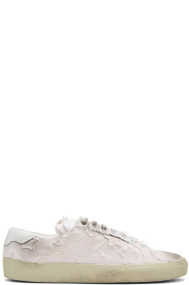 Saint Laurent - Pink Court Classic California Sneakers
