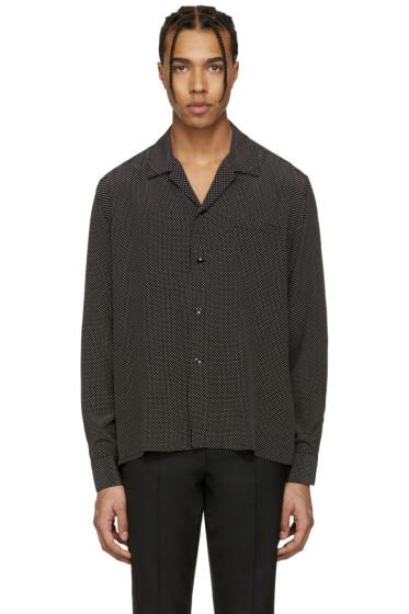 Saint Laurent - Black Pyjama Collar Shirt