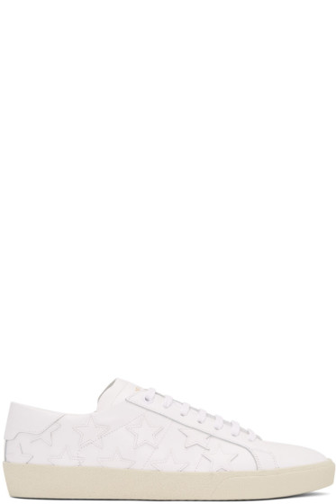Saint Laurent - White Stars SL/06 Court Classic Sneakers