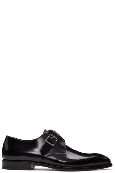 Saint Laurent - Black Jude Monkstraps