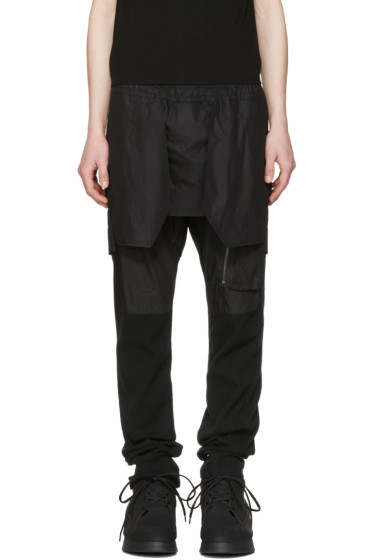 Julius - Black Layered Trousers