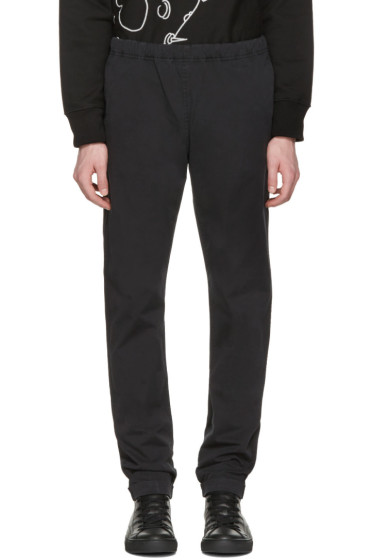 PS by Paul Smith - Black Drawstring Chinos