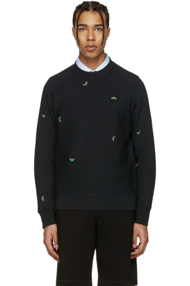 PS by Paul Smith - Black Watermelon Pullover