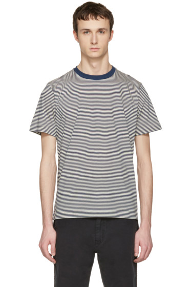 PS by Paul Smith - Navy Stripe T-Shirt
