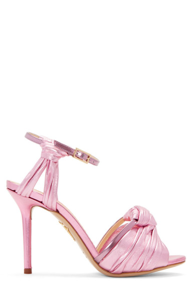 Charlotte Olympia - Pink Broadway 95 Sandals