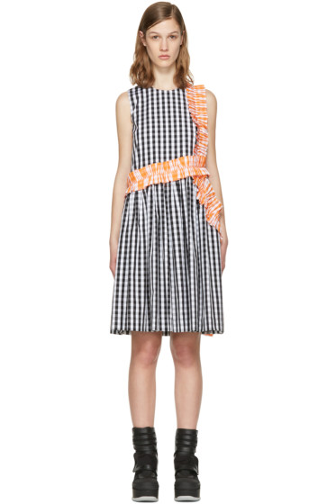 MSGM - Black Ruffle Picnic Dress