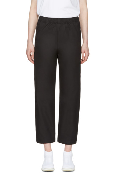 MSGM - Black Parachute Lounge Pants