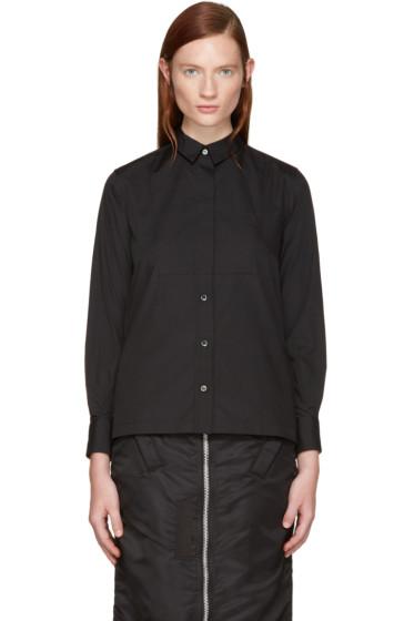 Sacai - Black Classic Shirting Shirt