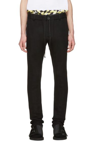 Sacai - Black Sweats Lounge Pants
