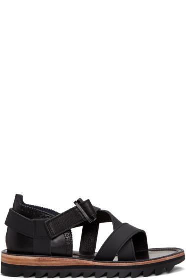 Sacai - Black Hender Scheme Edition Strap Sandals
