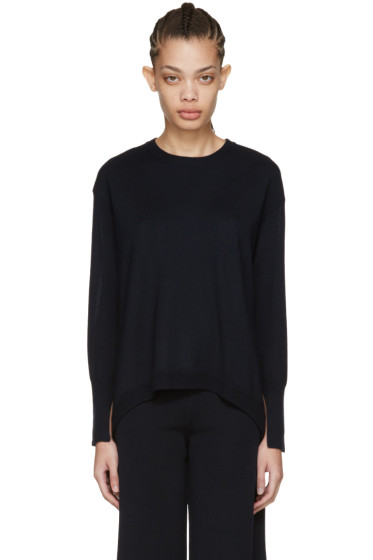 Cédric Charlier - Navy Oversized Pullover