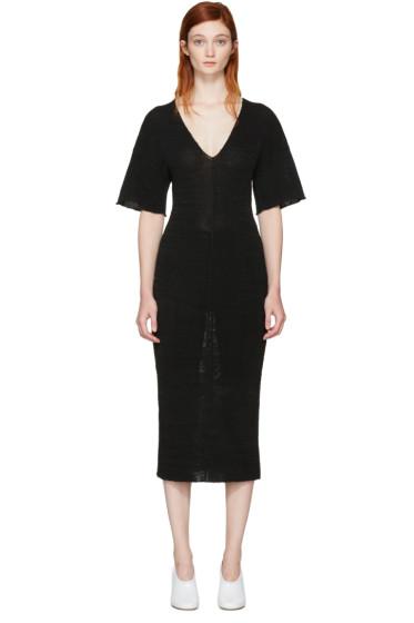 Stella McCartney - Black V-Neck Dress