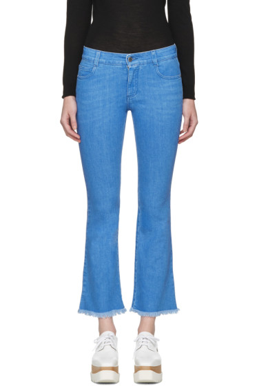 Stella McCartney - Blue Skinny Kick Jeans