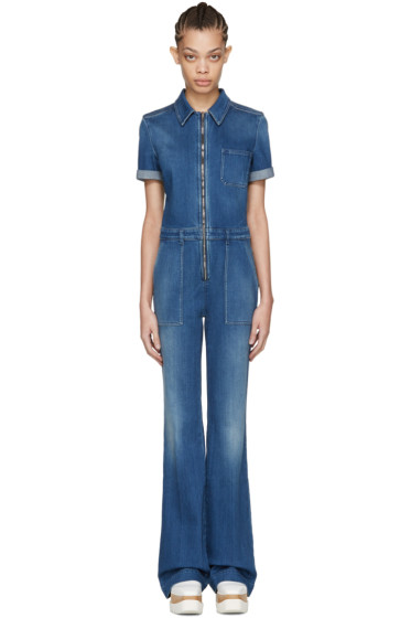 Stella McCartney - Blue Denim Jumpsuit