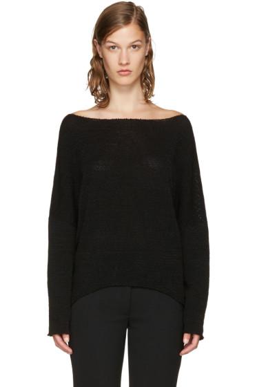 Stella McCartney - Black Chunky Stitch Sweater