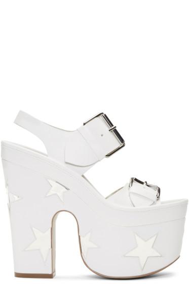 Stella McCartney - White Star Sandals