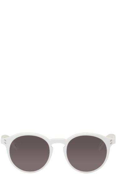 Stella McCartney - White Round Sunglasses