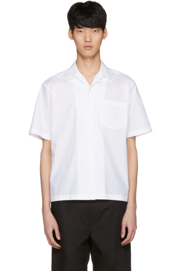 Stella McCartney - White 'Members and Non Members' Shirt