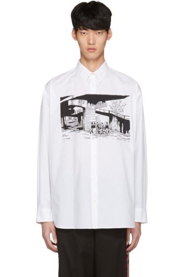 Stella McCartney - White Printed Shirt