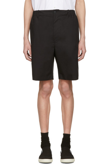 Stella McCartney - Black Wide Shorts