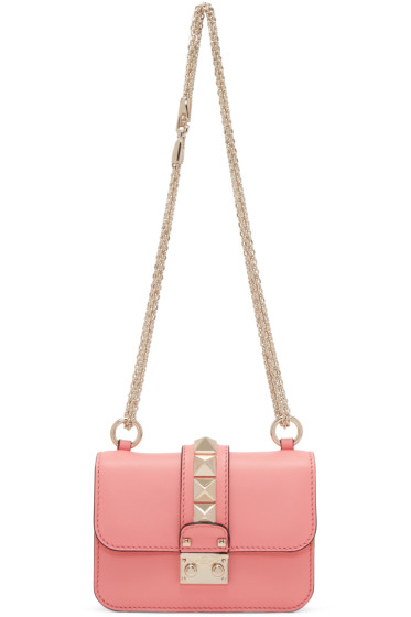 Valentino - Pink Mini Lock Bag
