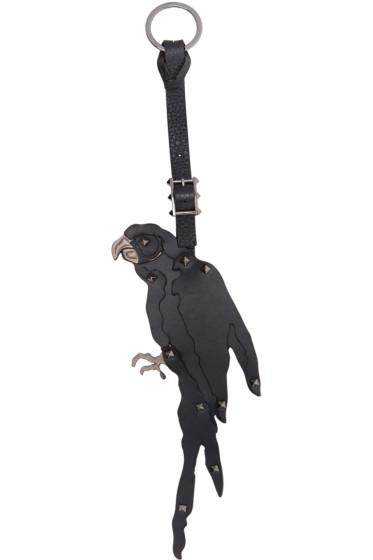 Valentino - Black Parrot Keychain