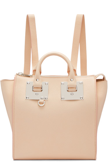 Sophie Hulme - Pink Small Holmes Backpack