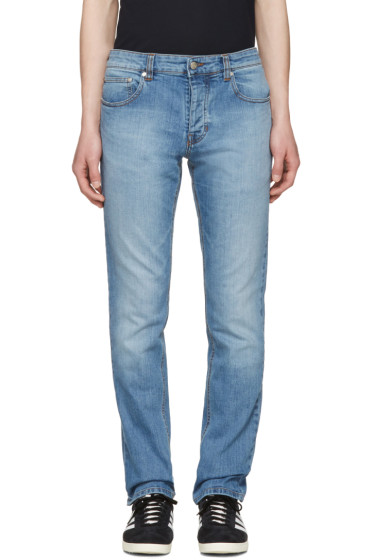 AMI Alexandre Mattiussi - Blue Slim Jeans