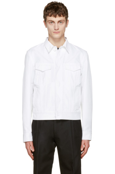 Calvin Klein Collection - White Richmond Jacket