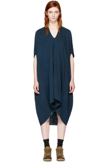 Visvim - Indigo Ruana Dress