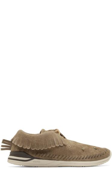 Visvim - Tan Maliseet Shaman-Folk Moccasin Sneakers