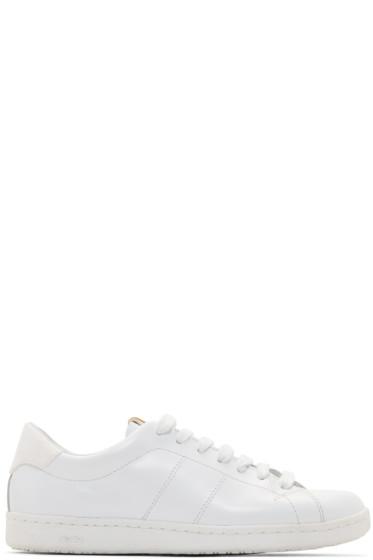 Visvim - White Foley-Folk Sneakers