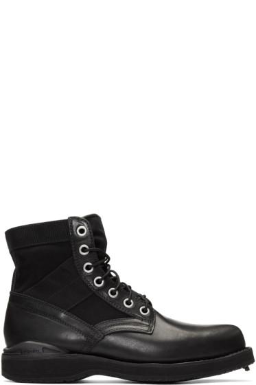 Visvim - Black '73 Folk Lace-Up Boots