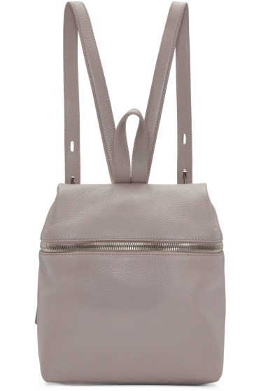 Kara - Pink Leather Small Backpack