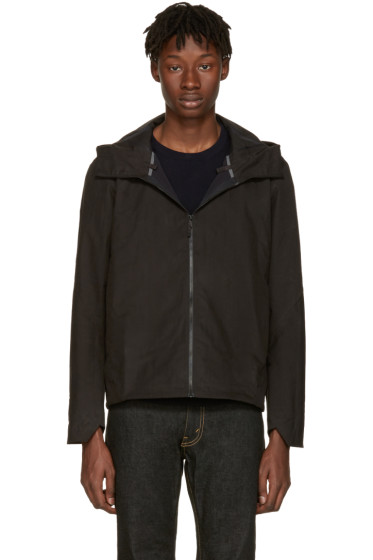 Arc'teryx Veilance - Black Isogon Hooded Jacket