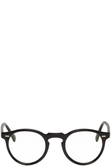 Oliver Peoples - Black Gregory Peck Glasses