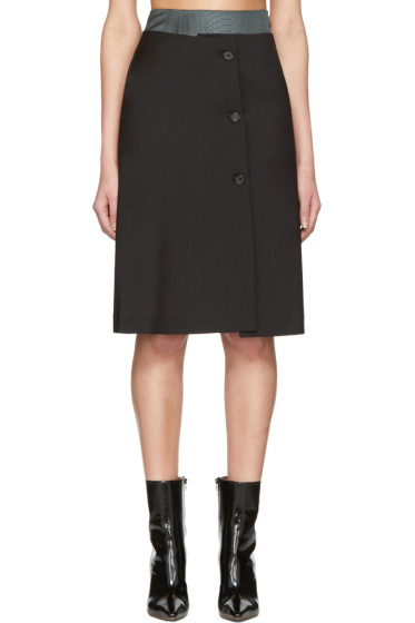 Yang Li - Black Double Layer Skirt
