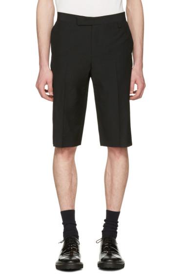 Yang Li - Black Classic Cut-Off Shorts