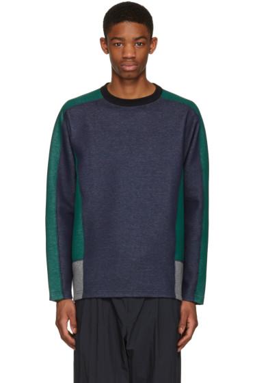 Kolor - Navy Contrast Pullover