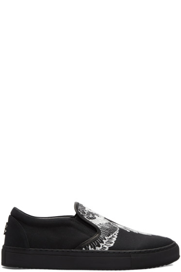 Marcelo Burlon County of Milan - Black Azelia Slip-On Sneakers