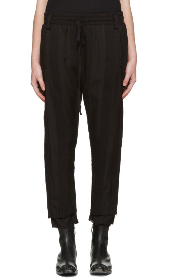 Haider Ackermann - Black Polonium Lounge Pants