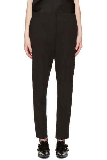 Haider Ackermann - Black Dropped Trousers