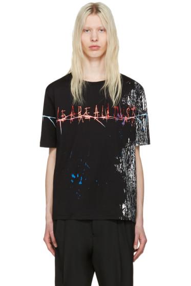 Haider Ackermann - Black 'We Are All Dust' T-Shirt