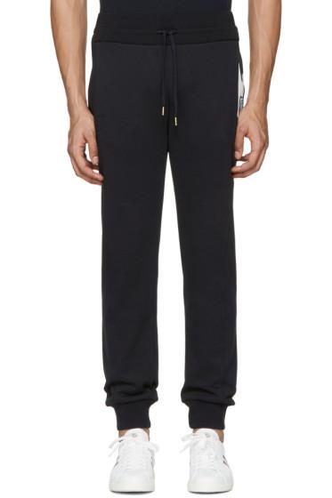 Moncler Gamme Bleu - Navy Contrast Lounge Pants