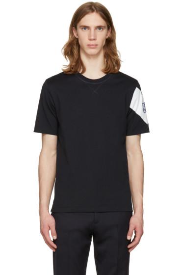 Moncler Gamme Bleu - Navy Sleeve Detail T-Shirt