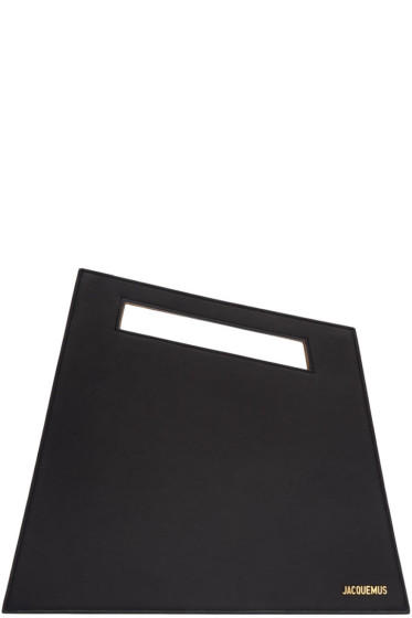 Jacquemus - Black 'Le Grand' Clutch