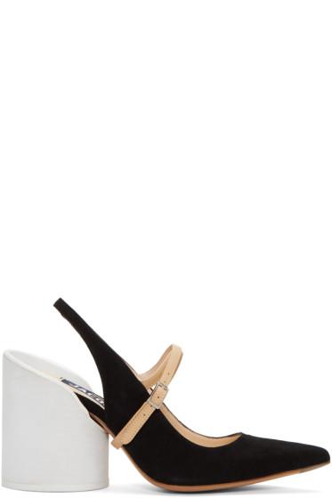 Jacquemus - Black 'Les Chaussures Nimes' Heels