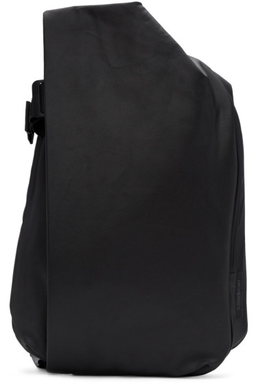 Côte & Ciel - Black Medium Isar Canvas Backpack